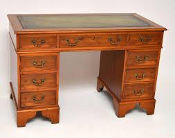 Schreibtisch 120 Antiker Georgianischer Schreibtisch Eibe