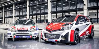toyota rally car for the race fans series profile world rally championship