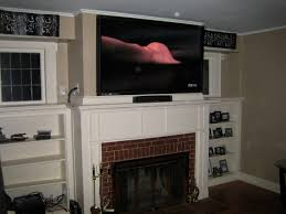 home theater wall speakers cheshire ct u2013 65 u2033 lcd tv over fireplace complete custom home