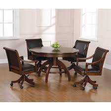 dining chairs on casters 280 caster chairs with 42 x 60 table