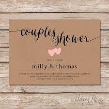 coed bridal shower bridal shower invitations cozy couples bridal shower invitations