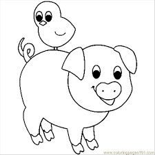 Pig Coloring Page Free Pig Coloring Pages Coloringpages101 Com Pig Coloring Pages