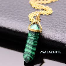 turquoise crystal necklace images Shaped natural crystal healing necklace the enchanted forest jpeg