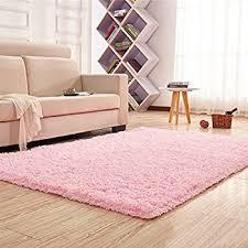 Fuzzy Area Rug Amazon Com Generic 0270 Super Soft Modern Shag Area Rug 4 U0027 X 5