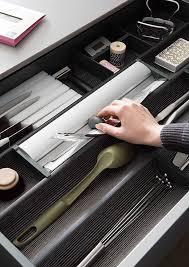 organiseur de tiroir cuisine tiroirs aménagés duplex et aménagement muraux mobalpa