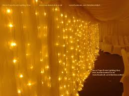 wedding backdrop fairy lights steve page lighting hire fairylight hire