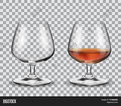 alcohol vector two brandy glasses empty alcohol vector u0026 photo bigstock