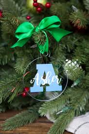 the 25 best personalized family christmas ornaments ideas on