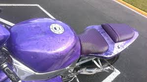 purple candy pearl motorcycle paint with pearl