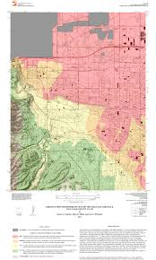 Utah Cities Map by Geologic Hazard Maps U2013 Utah Geological Survey