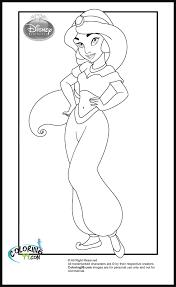 disney princess jasmine coloring pages prints