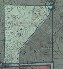 Baltimore City Map Baltimore City 1935 Ward 9