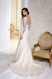 wedding dress lace sleeves backless wedding dresses in jax