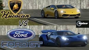 Lamborghini Aventador Huracan - 2015 lamborghini huracan vs 2017 ford gt top gear youtube