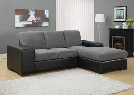 charcoal gray sectional sofa with chaise lounge decor artificial classic corduroy sectional sofa for unique
