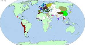 Aztec Empire Map World Rivalries Map Game Alternative History Fandom Powered