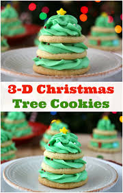 stacked christmas tree cookie recipe