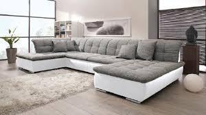 sofa grau weiãÿ wohnlandschaft grau weiß enorm wohnlandschaft im 45253 haus