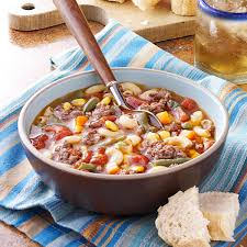 beef macaroni soup recipe taste of home