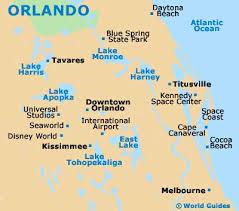 map usa orlando orlando travel guide and tourist information orlando florida
