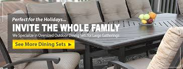 Patio Furniture Table Patio Furniture Largest Selection In Orange County Zen Patio