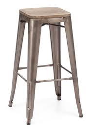 Metal And Wood Bar Stool Contemporary Barstools Contemporary Counter Stools