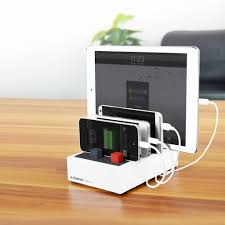 best usb charging station 4 5a 22 5w high power avantree