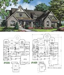craftsman house plan on the drawing board 1409 houseplansblog