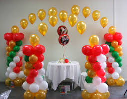 Decoration For Puja At Home by Displaybiz Displays For Every Occasion Balloons And Bows And