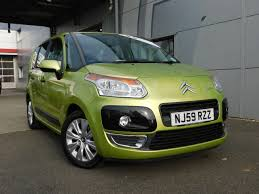 used citroen c3 picasso green for sale motors co uk