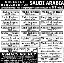 electrical engineering jobs in dubai for freshers saudi arabia tv project jobs 2018 delta holding company jobs in