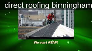 White Roofing Birmingham by Direct Roofing Birmingham Youtube