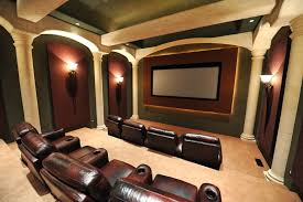 Home Theater Decorating Ideas On A Budget 25 Top Modern Basement Design Ideas Basements Popcorn Maker And
