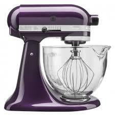 Kitchenaid Blender by Kitchenaid Artisan 5 Quart Mixer W Glass Bowl Plumberry
