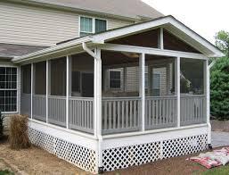 Enclosed Porch Plans Screen Porches Maryland Washington Dc Va Pa De