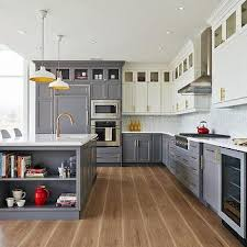 Two Color Kitchen Cabinet Ideas Two Toned Kitchen Cabinets Awesome Two Color Kitchen Cabinets