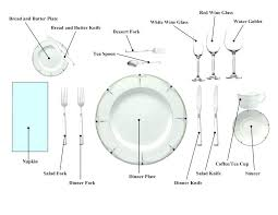 set table to dinner proper way to set a table dining table setting formal table settings
