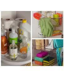 Bathroom Sink Organization Ideas Easy Under The Sink Storage Ideas Real Simple