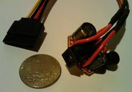 diy coin sized sata power module to replace a harddrive docking