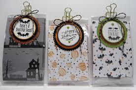 Halloween Gift Bag by Lynn U0027s Locker Stampin U0027 Up Halloween Treat Product Holder Gift Bag