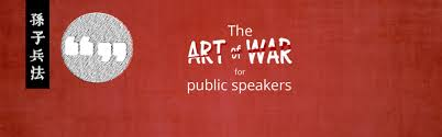 the art of war for business pitch presentation and public
