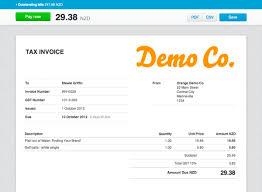 xero invoice template invoice sample template