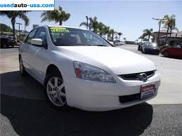 honda accord rate for sale 2005 passenger car honda accord sedan exlv6 at san juan