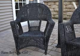 Martha Stewart Resin Wicker Patio Furniture - my old wicker chairs