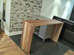 fabriquer une table bar de cuisine console bar cuisine porownywarka info