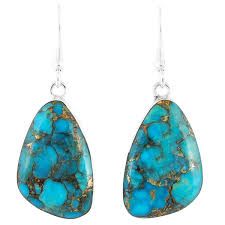turquoise earrings turquoise earrings sterling silver jewelry