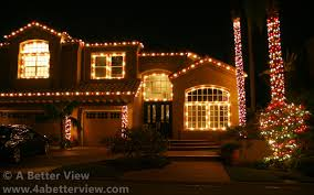 red white icicle lights christmas lights installation christmas light installers
