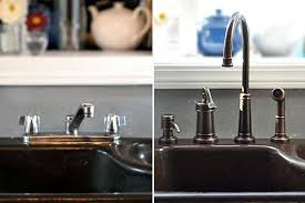 replacing kitchen faucets how to replace a kitchen faucet kitchn