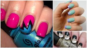 16 awesome nail art designs you can create using scotch tape