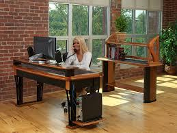 Computer Desk Cord Management Modern Computer Desk Caretta Workspace